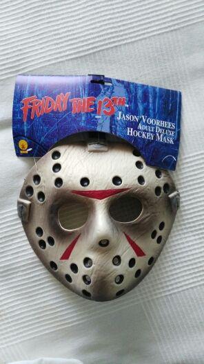 Máscara disfraz Jason viernes 13