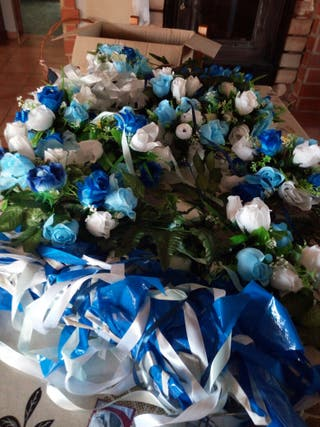 flores de decoracion de bodas de plata