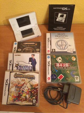 Nintendo DS como nueva.