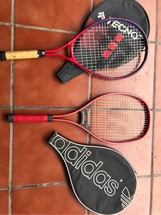Raquetas tenis vintage