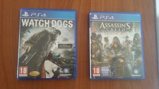 Watch dogs y assassins creed syndicate