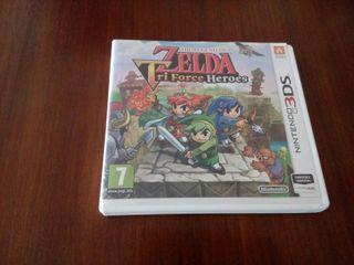 the legend of zelda triforce heroes 3DS