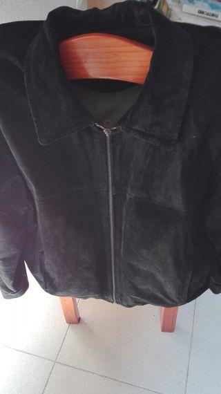 chaqueta piel ante