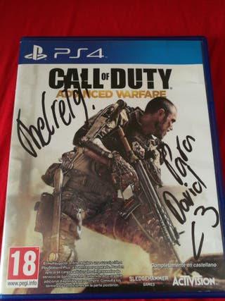 Call Of Duty Advanced Warfare Ps4 Firmado Thegrefg