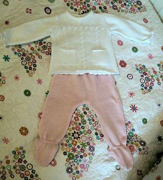 Neck & Neck, conjuntito ropa bebé. 6-9 meses.