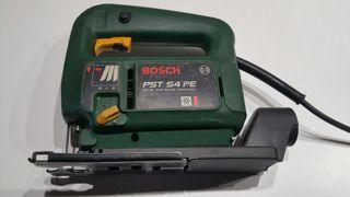 Caladora Bosch con accesorio de aspiración