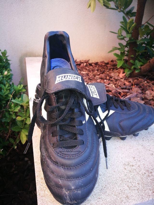 botas futbol Munich X Blanco 44