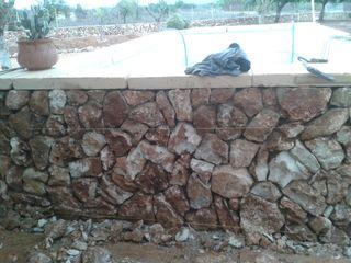 trabajo de piedras