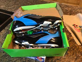 botas d futbol nuevas aluminio