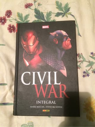 Cómic marvel civil war