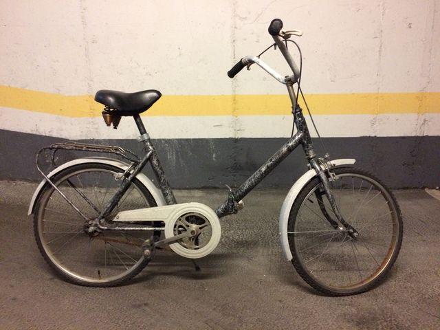 Bicicleta plegable Orbea.