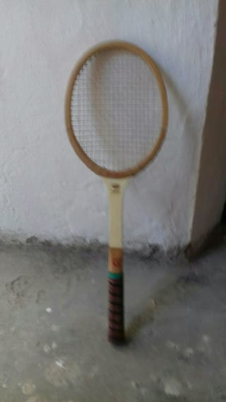 Raqueta madera