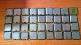 lote 38 procesadores intel 775-soket