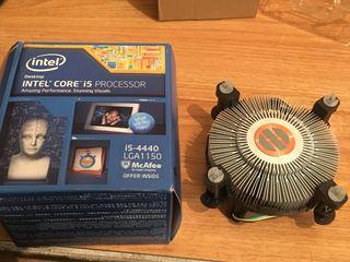 Disipador ventilador para un i5 con su caja y instrucciones