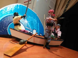 madelman, barco pirata