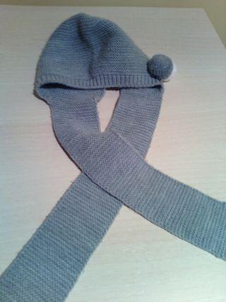 gorro bufanda 6 meses