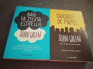 Libros. Bajo la misma estrella. Ciudades de papel.