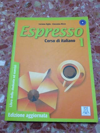 Libro italiano A1 espresso eoi sagunto