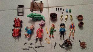 Piezas barco pirata playmobil y Peter Pan....