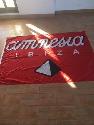 Bandera disco Amnesia Ibiza