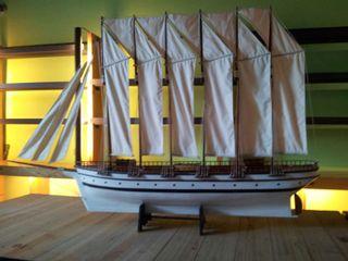 Gran maqueta barco