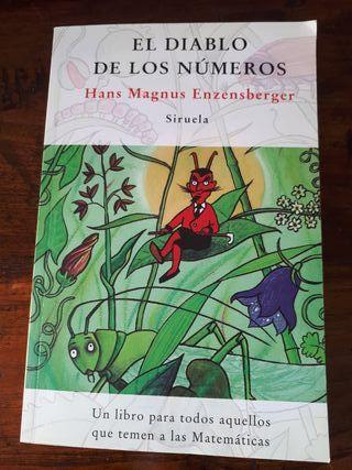 libro El diablo de los números. a partir de 10 año