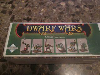Warhammer Orcos Plomo