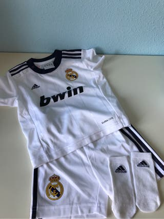 Equipación Real Madrid 6 meses