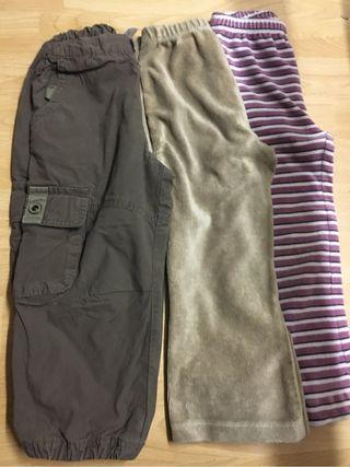 Pantalones invierno 3 años