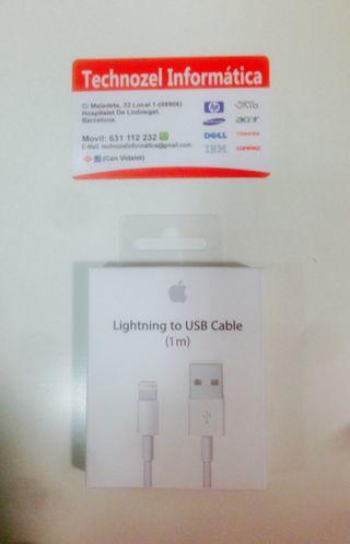 Cable cargador para iphone Garantia 1 año