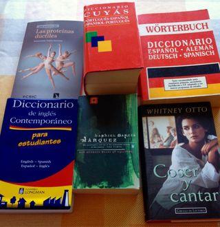 Libros y diccionarios