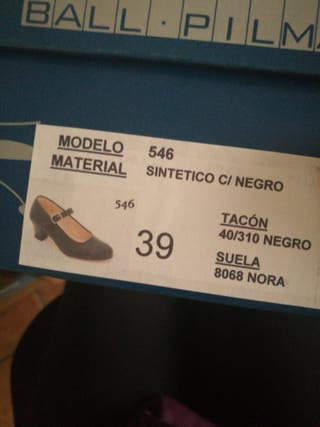 Zapatos flamenco