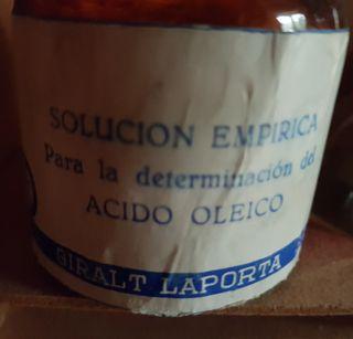 Medidor acidez aceite antiguo