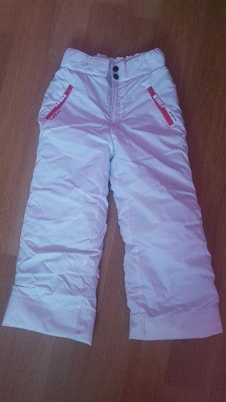 Pantalones nieve niña