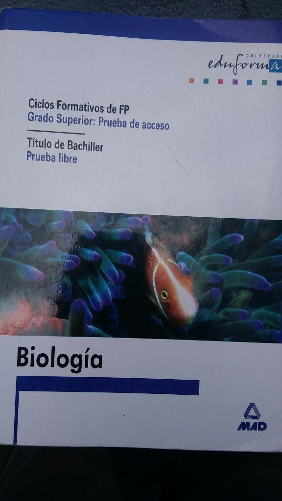 Libro Biología Ciclos Formativos De Segunda Mano Por 5 En