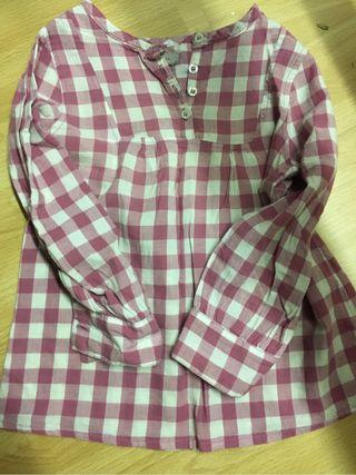 Camisa niña invierno