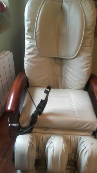 sillón masaje eléctrico