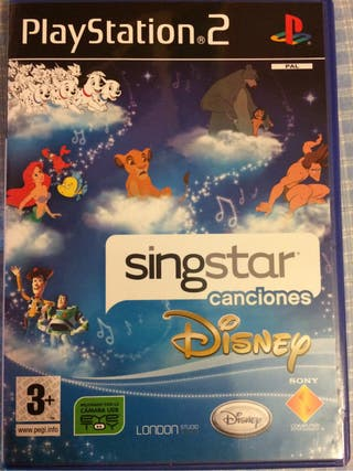 Singstar Disney ps2