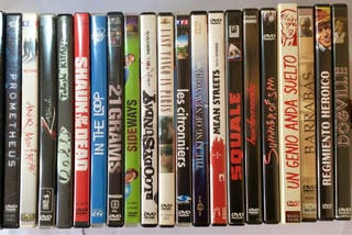 Lote de películas Dvd (francés ingles cast.)