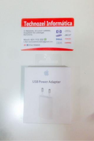 Cargador adaptador iphone 4,5,6,7 y plus original