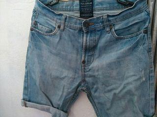 pantalón tejano corto pull&bear