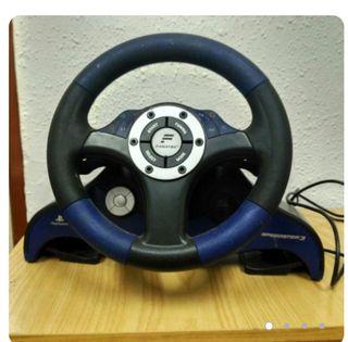 volante para ps2 y pedales