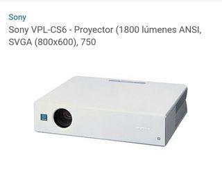proyector sony vpl cs6
