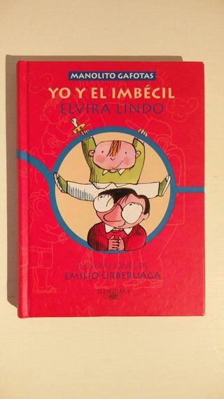 libro Manolito Gafotas.