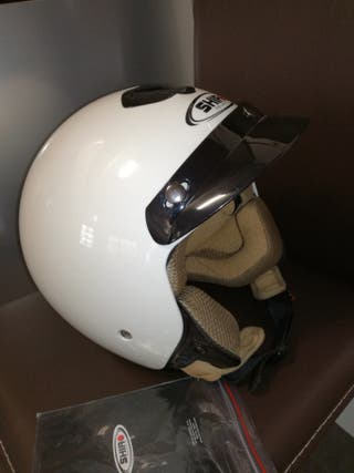 Casco moto Shiro Vintage S