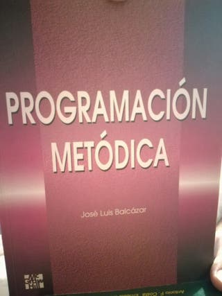 programacion metodica balcazar