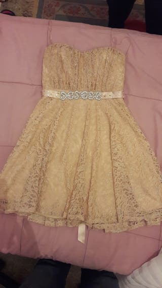 Vestido de fiesta talla 38 de cortefiel