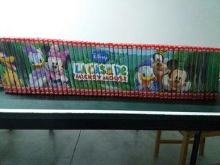 coleccion dvd la casa de mickey mouse