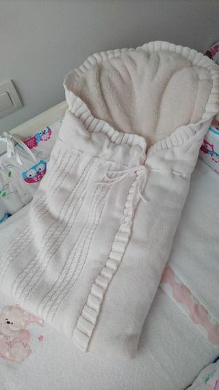 Saco de lana bebé