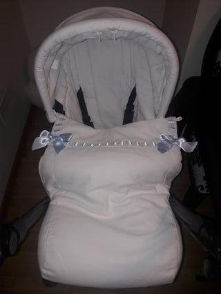 Saco bebé + capota carrito matrix de Jané